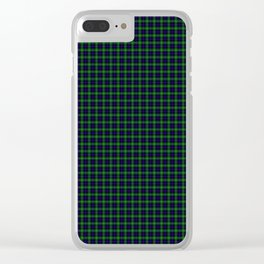 Sutherland Tartan Clear iPhone Case
