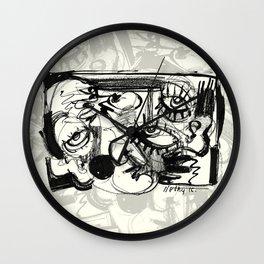 Chit-Chat Wall Clock
