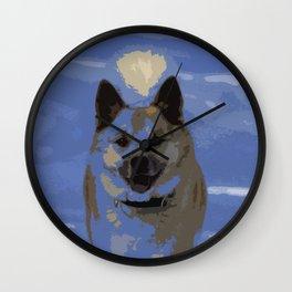 IcelandicSheepdog20150401 Wall Clock