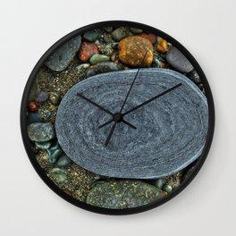 Beach Geology Wall Clock