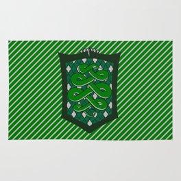HP Slytherin House Crest Rug