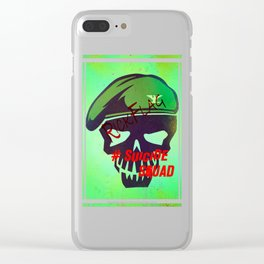 """RICKFLAG """"Suicide Squad"""" Clear iPhone Case"""
