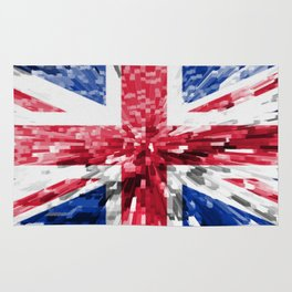 Extruded Flag of the United Kingdom Rug