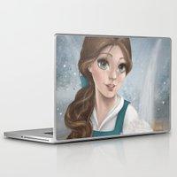 belle Laptop & iPad Skins featuring Belle by Geneviève Viel-Taschereau