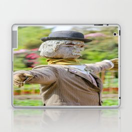 The Lost Gardens of Heligan - Diggory the Scarecrow Laptop & iPad Skin
