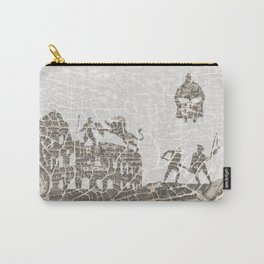 Rome of Gladiators - vintage map Carry-All Pouch