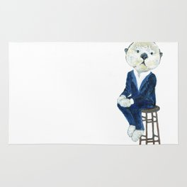 Business Casual Otter Rug