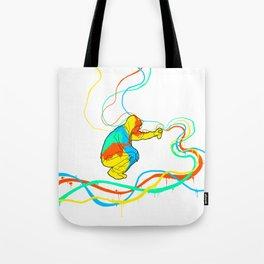 graffiti colors Tote Bag