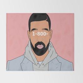 Drake 1-800 Throw Blanket