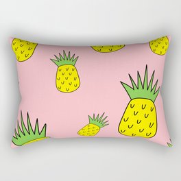 pineapple psych o Rectangular Pillow