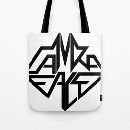 CamRaFace Logo White for T-Shirts Tote Bag
