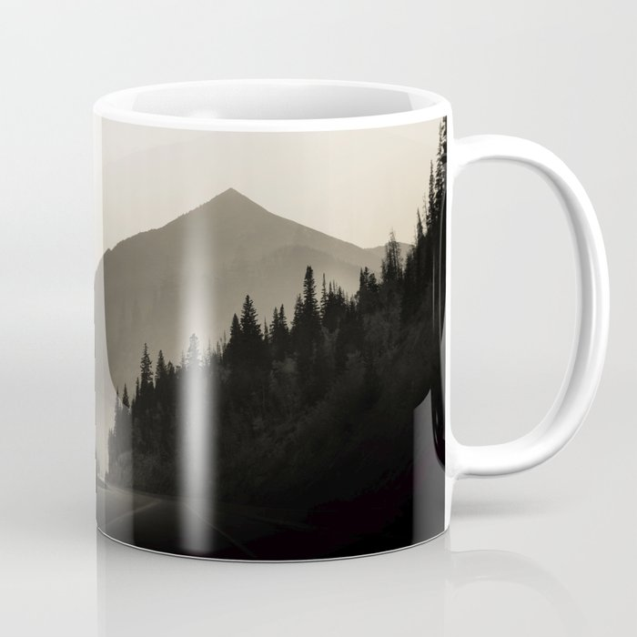 Dusky Bronze Mountains Coffee Mug