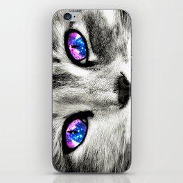 Galaxy Cat iPhone Skin