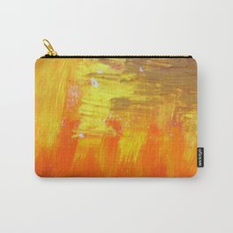 Aflood with gold and rose Carry-All Pouch