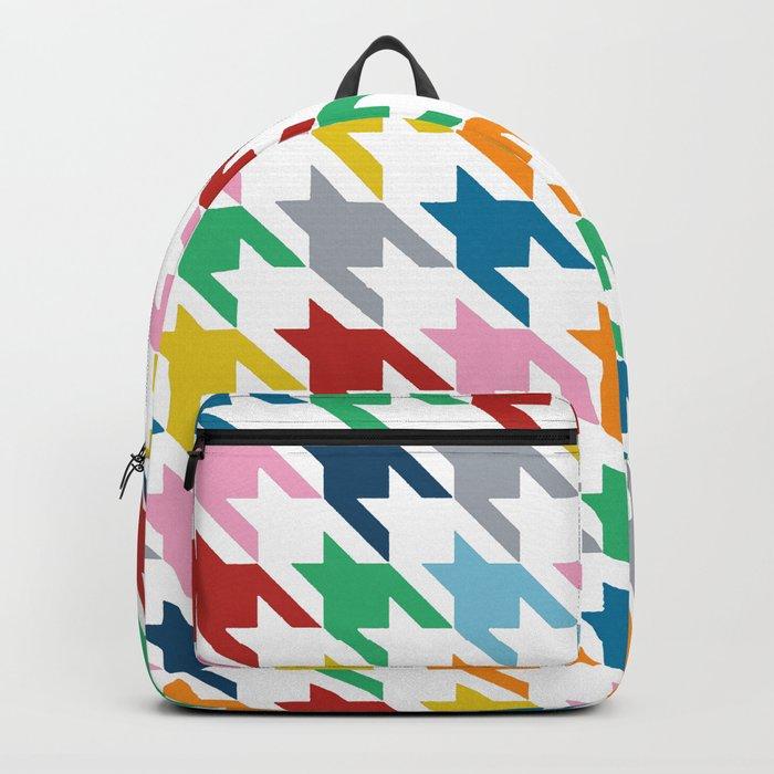 Rainbow Dogtooth Backpack