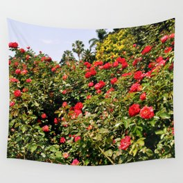 Roses Are Red Wall Tapestry