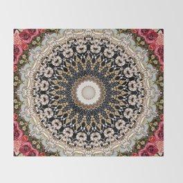 Mandala Hahusheze  Throw Blanket