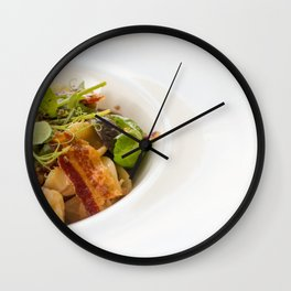 The Art of Food Bacon Sideways Wall Clock