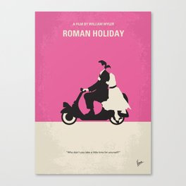 No205 My Roman Holiday mmp Canvas Print