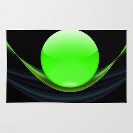 Green Ball Rug