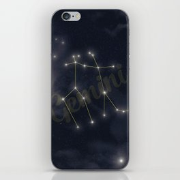 Gemini Constellation - Zodiac iPhone Skin