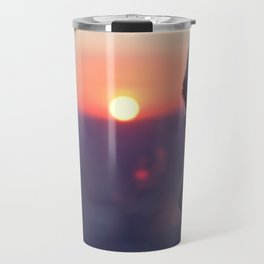 Sunset on Chicago Travel Mug