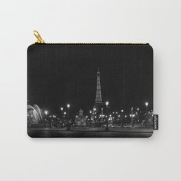 The Eiffel Tower From Place de la Concorde Carry-All Pouch