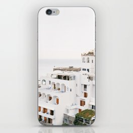 Cliffside View, Positano iPhone Skin