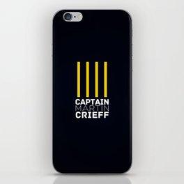 Captain Martin Crieff iPhone Skin