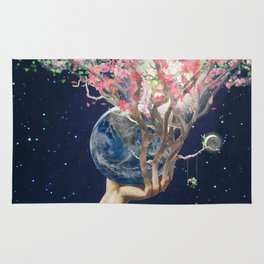 Love Makes The Earth Bloom Rug