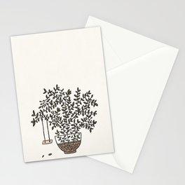 Potted Backyard Stationery Cards