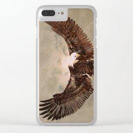 Eagle Spirit Clear iPhone Case