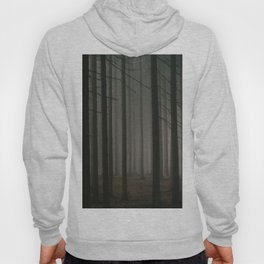 Dark morning forest Hoody