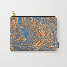 Coffee pattern with notes of sea breeze Carry-All Pouch