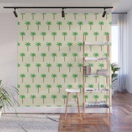 Palm tree drawing Wall Mural