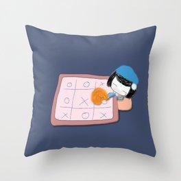 Fluffy  Dream Throw Pillow