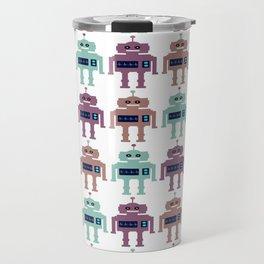 Vintage Toy Robots Travel Mug