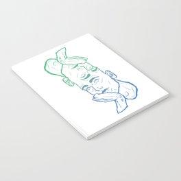 Hmm... - Blue Notebook