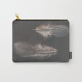 feathers appear when angels are near Carry-All Pouch