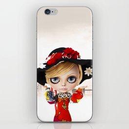 Erregiro Blythe Custom Doll Twiggy iPhone Skin