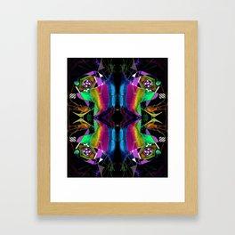 二 (Èr) Framed Art Print
