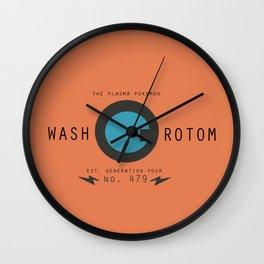 Rotom (Wash) Wall Clock
