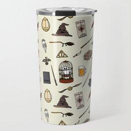 Harry Pattern Travel Mug