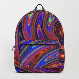 Swirly Twirly Colorful Lollipop Backpack