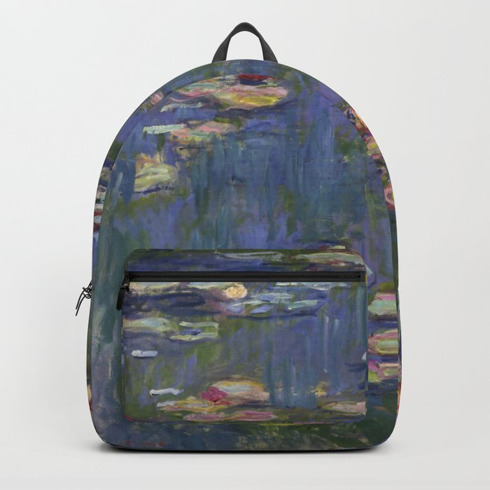 "Claude Monet ""Water lilies"" (12) Backpack"