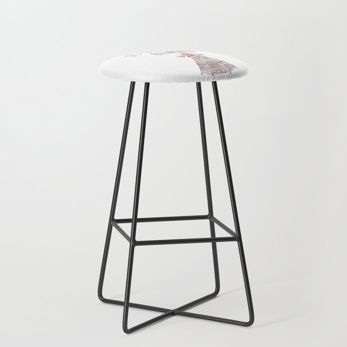 Peace Is Its Own Reward Bar Stool By Peggieprints