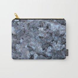 Blue Pearl Granite #1 #decor #stone #art #society6 Carry-All Pouch