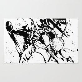 The Founder of Gintama Anime - Sakata Gintoki Rug