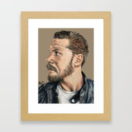 Mr. Tom Hardy Framed Art Print