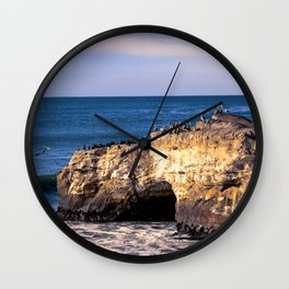Natural Bridges, Santa Cruz Wall Clock